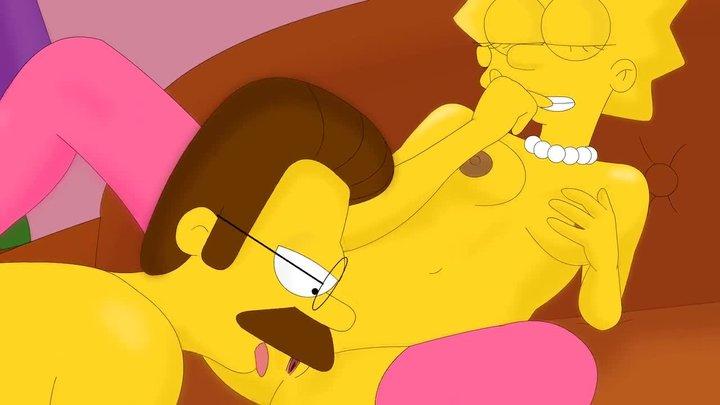 Lisa Simpson seks analny
