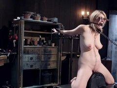 Wet pussy BDSM hardcore fucking