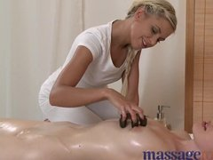 Massaging turned into hot seductive fuckshow