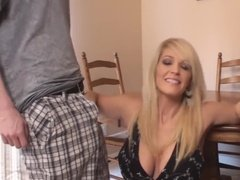 Milf plays with young dick and gets fucked