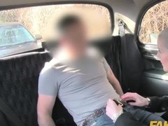 Naughty Taxi Driver Film Another Wild Pussy for his Not-so-Private Collection