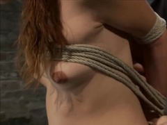 Lots of Ropes and Pain Keep Sexy Sub Under Control