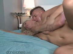 Passionate Blonde Milks Hot Cum Out of Cock
