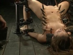 Young Slave Girl is Tortured to Deserve Orgasm