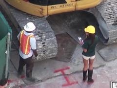 Horny Subcontractor Negotiates Deals