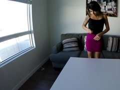 Young girl pounded hard in hotel room casting