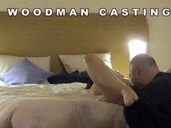 Woodman casting and hard fucking in hotel room