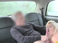 Cute blonde tight ass fucked by personal driver