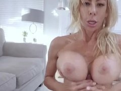 Big titted milf gets anal bashing